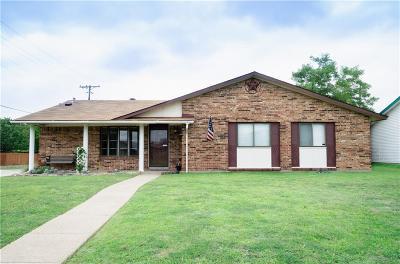 Carrollton Single Family Home Active Option Contract: 2124 Sam Houston Boulevard
