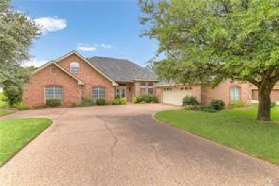 Granbury Single Family Home Active Option Contract: 2501 Pebble Drive
