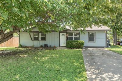 Denton Single Family Home Active Option Contract: 3913 Atlas Drive