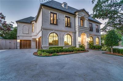 Dallas Single Family Home For Sale: 5947 Park Lane