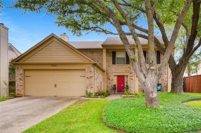 Grapevine Single Family Home For Sale: 4351 Bradford Drive