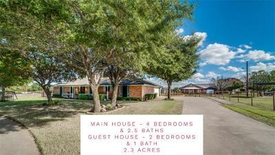 Midlothian Single Family Home For Sale: 5411 Shallow Creek Drive