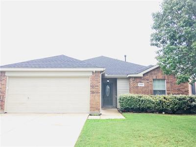 Forney Single Family Home Active Option Contract: 2004 Brook Meadow Drive