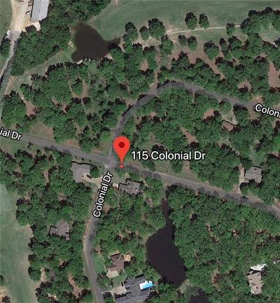 Mabank Residential Lots & Land For Sale: 115 Colonial