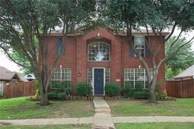 Lewisville Single Family Home For Sale: 1668 Castle Rock Drive