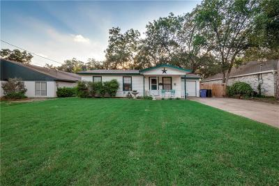 Euless Single Family Home Active Option Contract: 706 Broadway Avenue
