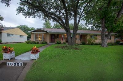 Dallas Single Family Home For Sale: 10508 Cromwell Drive