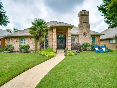Dallas Single Family Home Active Option Contract: 15532 Golden Creek Road