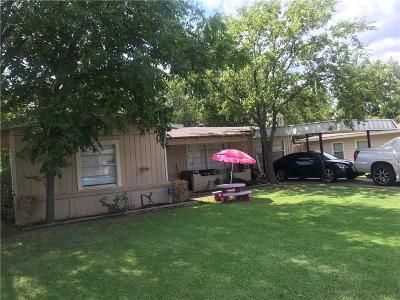 Arlington Single Family Home Active Option Contract: 602 Connally Terrace