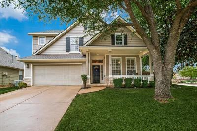 Grapevine Single Family Home Active Option Contract: 111 Silver Oak Drive