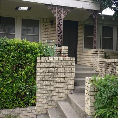 Single Family Home Active Option Contract: 6704 Kirkwood Road