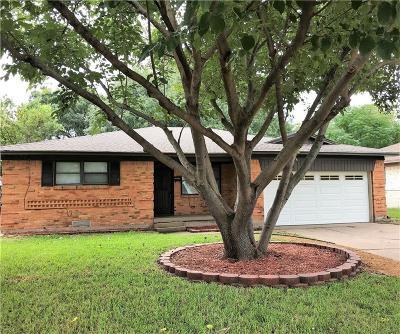 Dallas Single Family Home Active Option Contract: 9520 Crestshire Drive