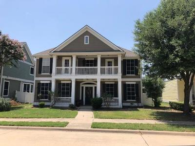 Providence Village Single Family Home For Sale: 843 Post Oak Place