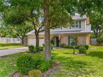 Hurst Single Family Home Active Option Contract: 2832 Toni Court