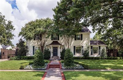 Single Family Home For Sale: 6055 McCommas Boulevard