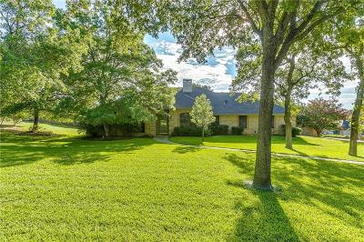 Parker County Single Family Home Active Contingent: 105 Cottonwood Court