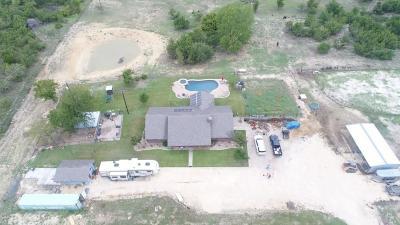 Erath County Single Family Home For Sale: 413 Turkey Ridge Road