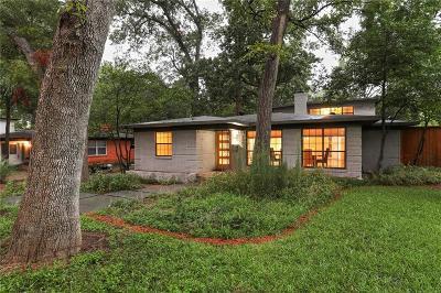 Dallas Single Family Home For Sale: 10427 Lake Gardens Drive