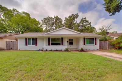 Farmers Branch Single Family Home Active Option Contract: 3116 Colchester Drive
