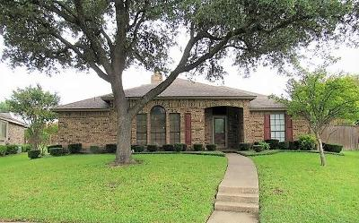 Mesquite Single Family Home Active Option Contract: 619 Big Thicket Trail