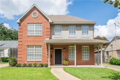 Dallas Single Family Home For Sale: 6211 Kenwood