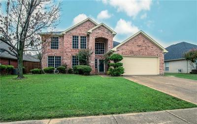 Grand Prairie Single Family Home Active Option Contract: 4745 Calder Drive