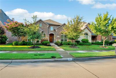 Allen Single Family Home For Sale: 835 Veneto Drive