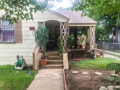 Dallas Single Family Home For Sale: 1007 Hendricks Avenue