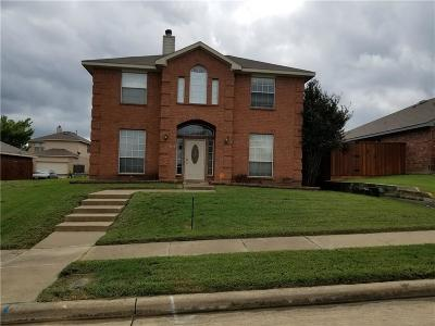 Mesquite Single Family Home For Sale: 2416 Redfield Drive