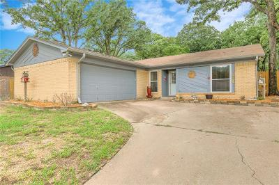 Azle Single Family Home Active Option Contract: 737 Lake Crest Parkway