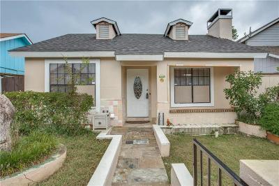 Dallas Single Family Home Active Option Contract: 10306 Brockton Drive