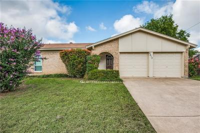 Watauga Single Family Home Active Option Contract: 6413 N Stardust Drive