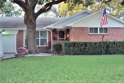 Dallas Single Family Home Active Option Contract: 3107 Crest Ridge Drive