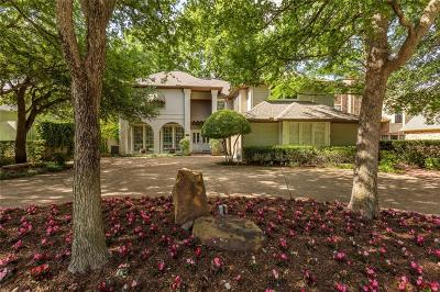Dallas Single Family Home For Sale: 5810 Bent Creek Trail
