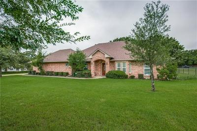 Seagoville Single Family Home Active Option Contract: 813 Ard Road