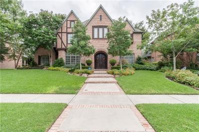 Coppell Single Family Home For Sale: 752 Lexington Avenue