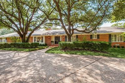 Dallas Single Family Home For Sale: 4336 Irvin Simmons Drive