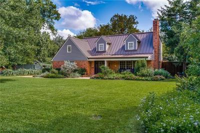 Dallas Single Family Home For Sale: 4414 Shirley Drive