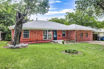 Dallas Single Family Home For Sale: 7314 Eccles Drive