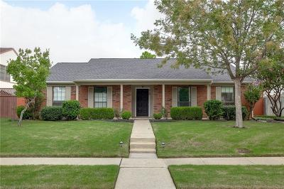Lewisville Single Family Home Active Option Contract: 419 Wind Wood Drive