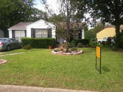 Dallas Single Family Home For Sale: 2751 Kilburn Avenue