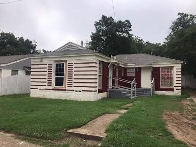 Dallas Single Family Home For Sale: 1908 Morrell Avenue