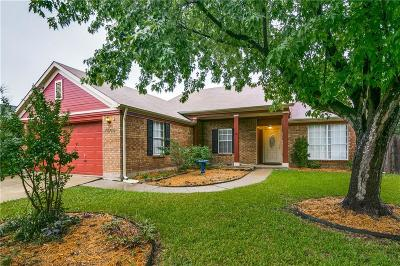 Rowlett Single Family Home For Sale: 7606 Clairmont Avenue