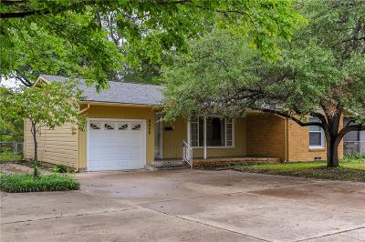 Fort Worth Single Family Home Active Contingent: 5459 Meadowbrook Drive