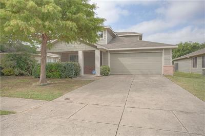 McKinney Single Family Home Active Option Contract: 9512 Woodrow Wilson Drive