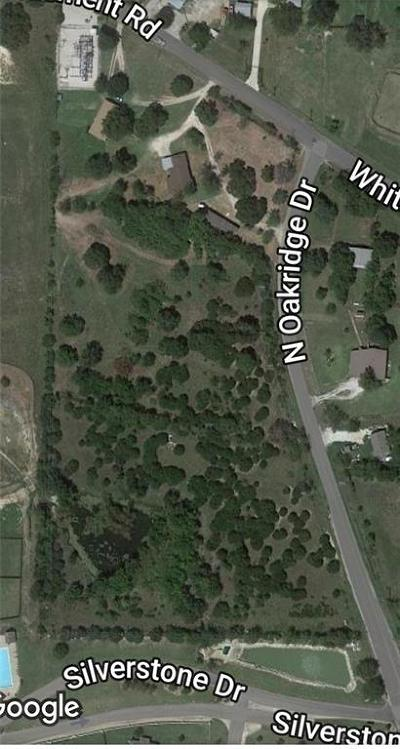 Parker County, Tarrant County, Wise County Residential Lots & Land For Sale: 00 N Oakridge