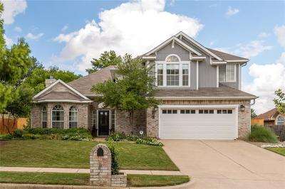 Keller TX Single Family Home Active Option Contract: $290,000