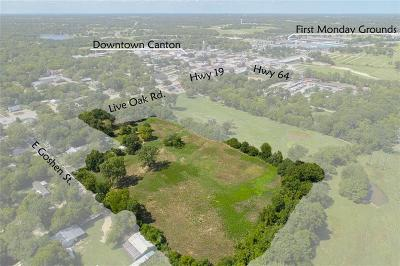 Canton Residential Lots & Land For Sale: Tbd Live Oak
