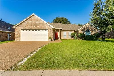 Keller TX Single Family Home Active Option Contract: $255,000