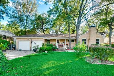 Dallas Single Family Home For Sale: 7310 Piedmont Drive